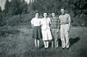Alfred Wilson (right) with his siblings c1940 ?
