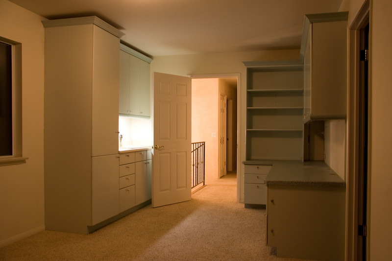 kitchenette and built-ins