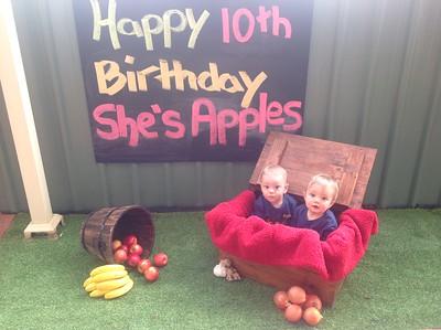 She's Apples 10th Birthday