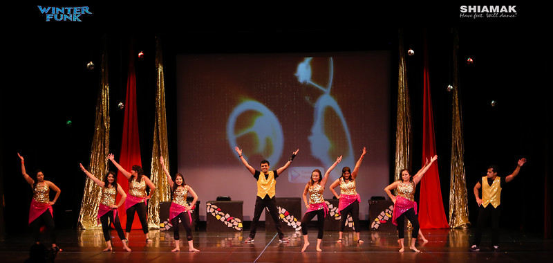 Shiamak USA Winter funk 2016 performers