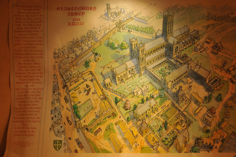The Abbey in 1530