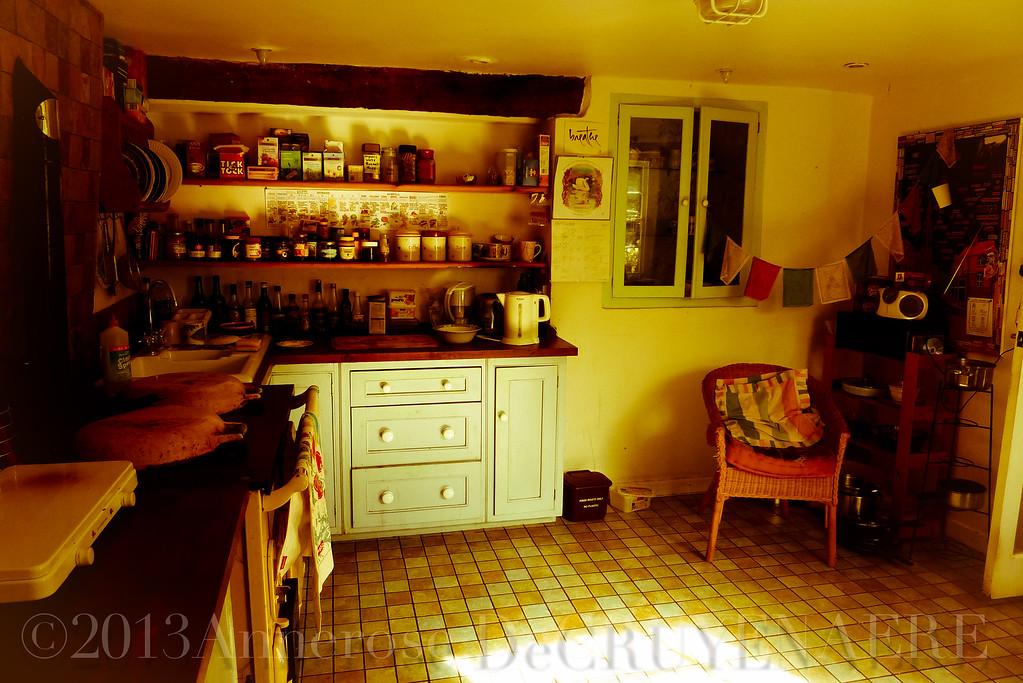 Cottage Kitchen in Glastonbury
