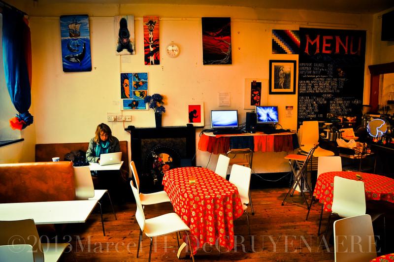 Café der Assembly Rooms, Glastonbury