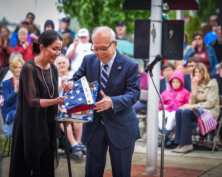 Shigeaki Mori, Memorial Day, Centralville Veteran's Park, Lowell