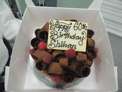 Shihan's 60th Birthday Celebrations