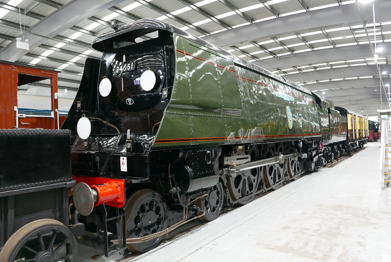 34051 Winston Churchill at Locomotion, Shildon