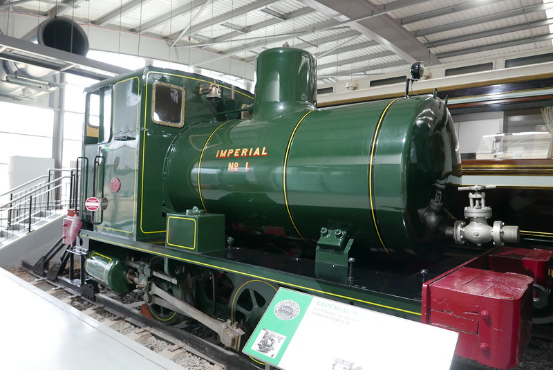 Fireless loco, at Locomotion, Shildon