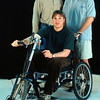 Biomedical: Design of an off-road wheelchair system.