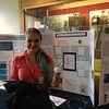 Lydia Gingerich presenting her poster on LED lighting at the Saturday Academy ASE Poster session.