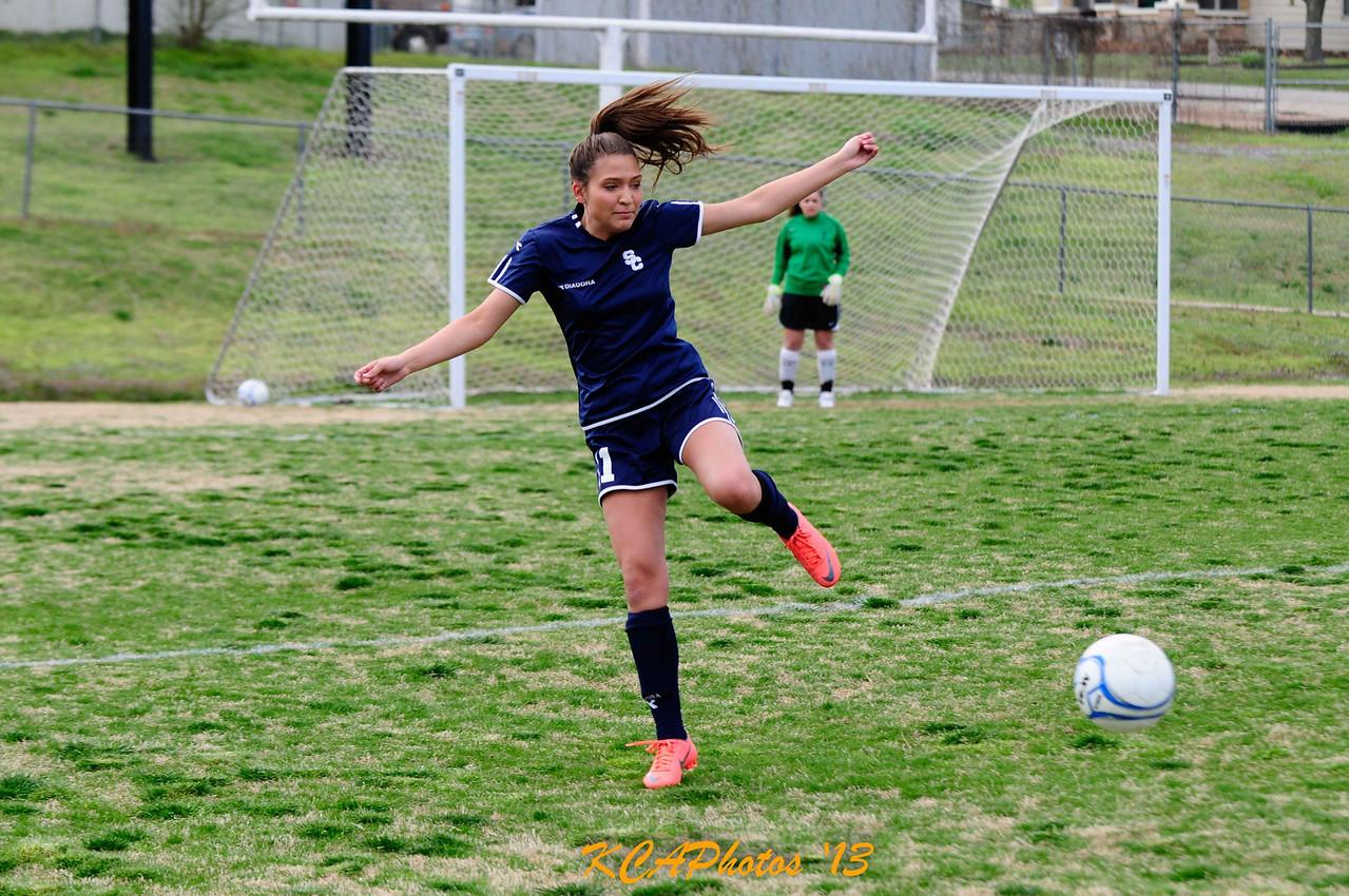 2013 SCS Soccer vs Huntsville 4-9-2013 -1