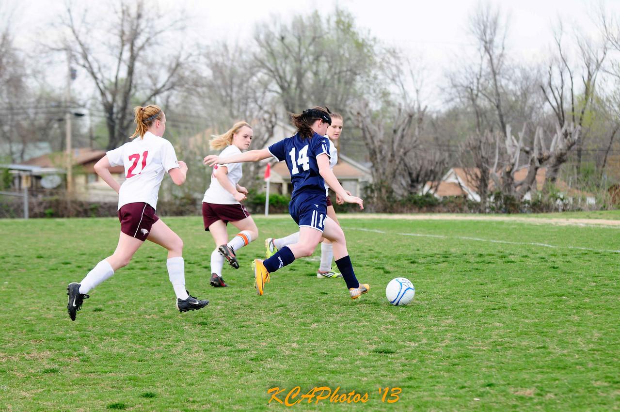 2013 SCS Soccer vs Huntsville 4-9-2013 -12