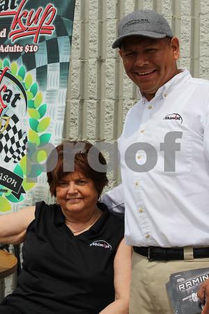 Vera Hartman and Joe Seca employees of Shimkat.