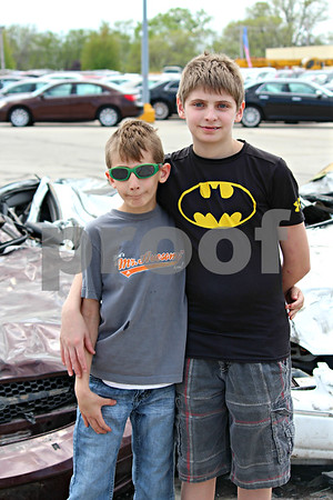 Zach and Aiden Pate.