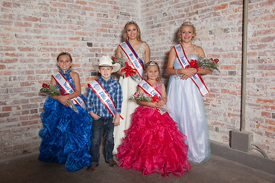 Shiner Royalty Court 2017 Pageant