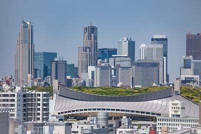 Shinjuku Skyline from Shibuya