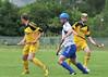 11 July 2015 at Peterson Park, Yoker, Glasgow.<br /> Camanachd Cup 3rd round match, Glasgow Mid Argyll v Inveraray