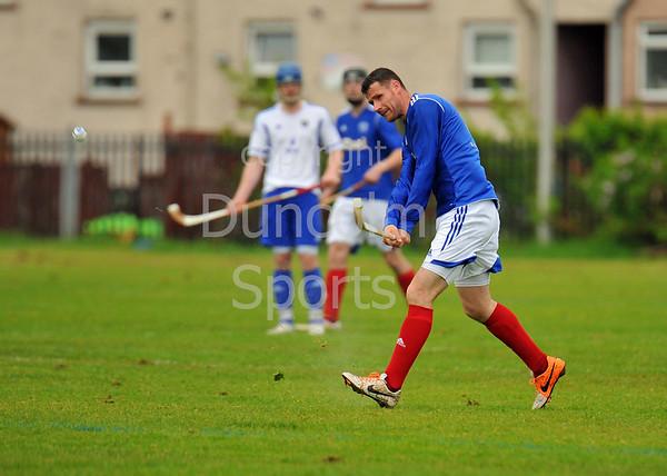 17 May 2014. Celtic Society Cup semi-final at Yoker.<br /> <br /> Glasgow Mid Argyll v Kyles Athletic