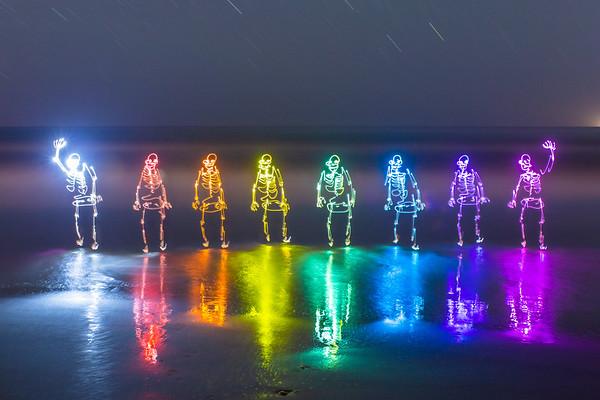 Rainbow Beach Bones