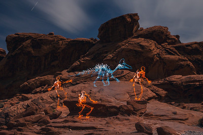 Capturing a Light-Fossil