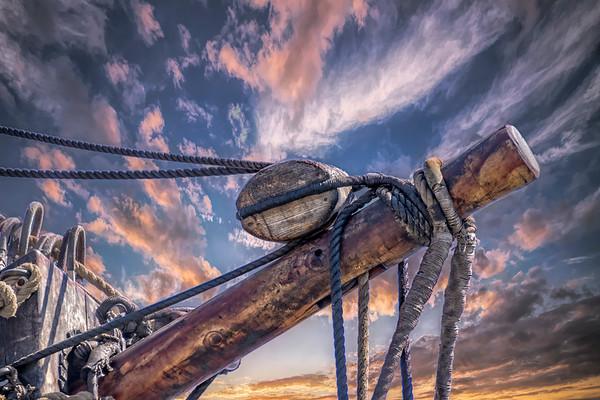 Old Ship mast