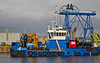 'Forth Jouster' in James Watt Dock - 8 March 2014