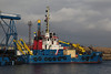 'Forth Sentinel' in James Watt Dock - 8 March 2014