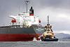 Aarti Prem - Departing Inchgreen Repair Quay - 24 April 2012