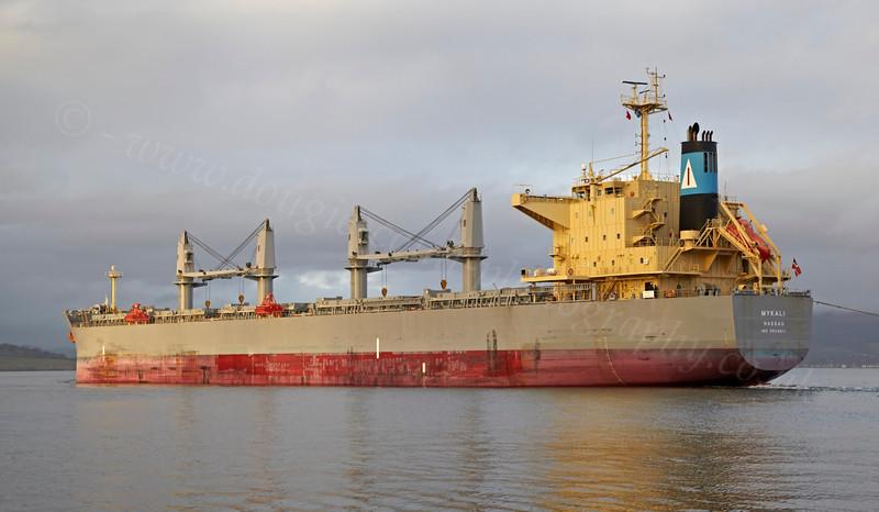 Mykali - Off East India Harbour - 16 December 2012