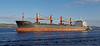 N.Loire' - Passing Port Glasgow - 18 November 2013
