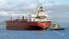 Seapowet Bulk Carrier - Off Greenock - 25 August 2011