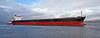 'CMB Sakura' Passing Port Glasgow - 6 January 2014