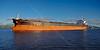 'Golden Lyderhorn' Passing Port Glasgow - 4 November 2013