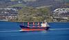 'Sebat' passing Dumbarton Rock- 15 April 2020