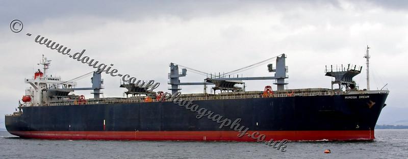 Mimosa Dream Passing Port Glasgow