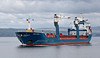 'Onego Trader' passing Greenock - 26 May 2014