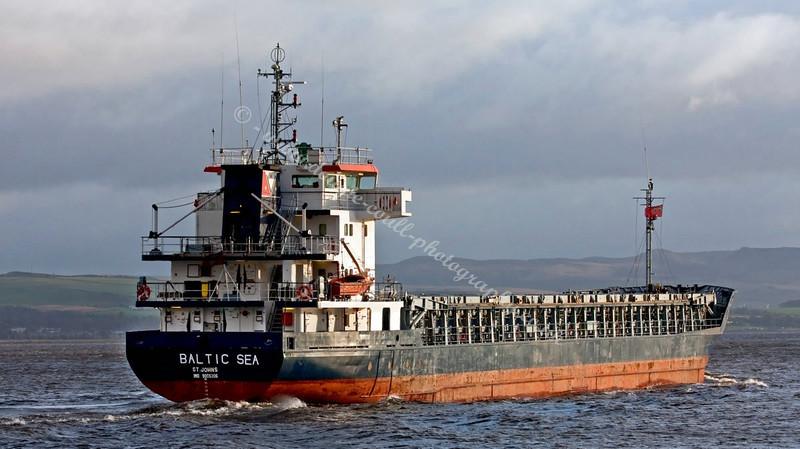 Baltic Sea - Off East India Harbour, Greenock