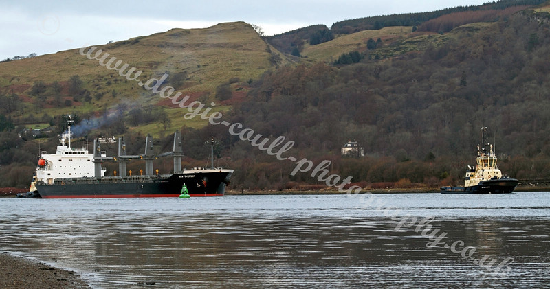 'New Everest' - Cargo Ship Heading to Glasgow
