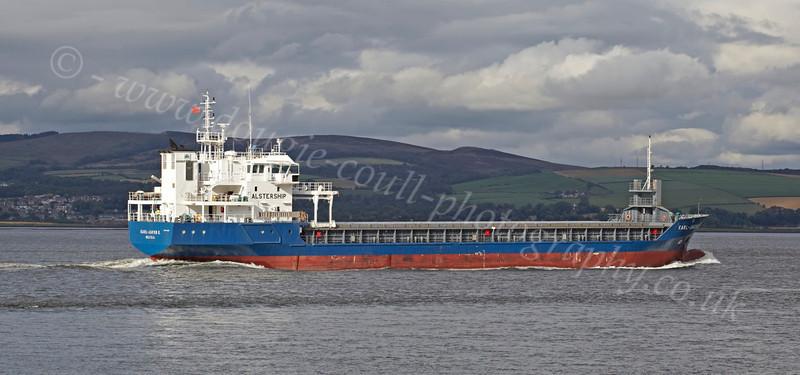 Karl Jakob K - Off Port Glasgow - 17 August 2012