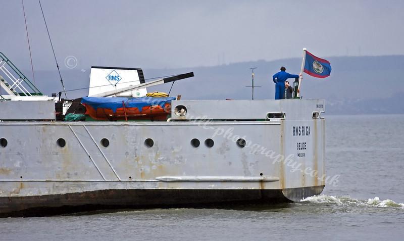 RMS Riga Leaves Greenock