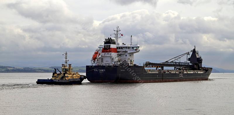 'CSL Thames' - Off Port Glasgow - 4 September 2013