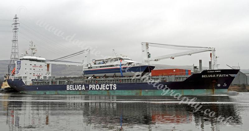 Beluga Faith - with Norwegian Catamaran Solundir