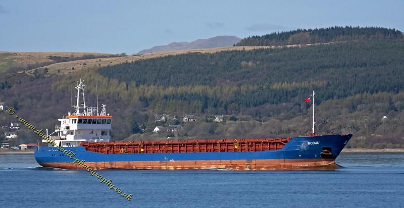 Rodau - Cargo Ship - Glasgow Bound