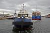 Tug 'Bruiser' Assisting the 'UFA' to berth at james Watt Dock