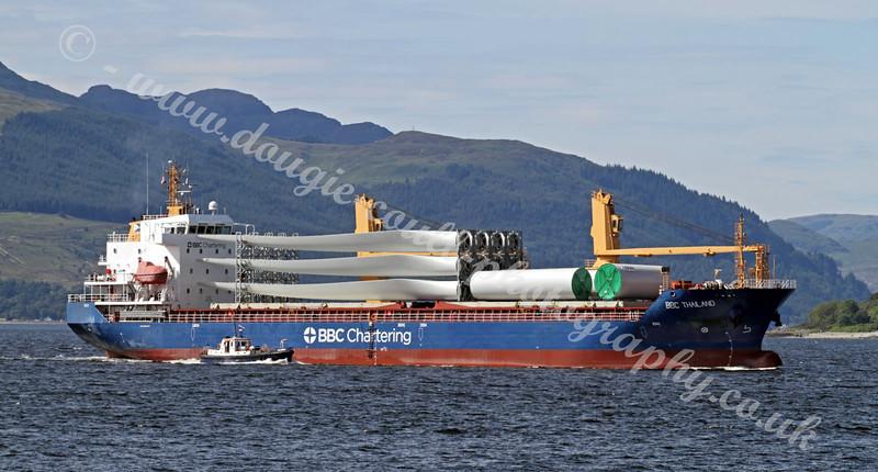 BBC Thailand - Cargo Ship - River Clyde - 25 July 2011