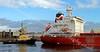 Four Aida - Approaching KGV Docks