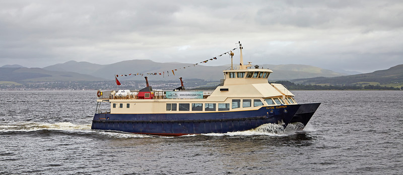 'Aurilia' passing Port Glasgow - 16 July 2016