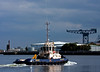 'CMS Buster' Heads Back to Victoria Harbour, Greenock