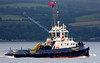 CMS Buster Passing Port Glasgow - 2009