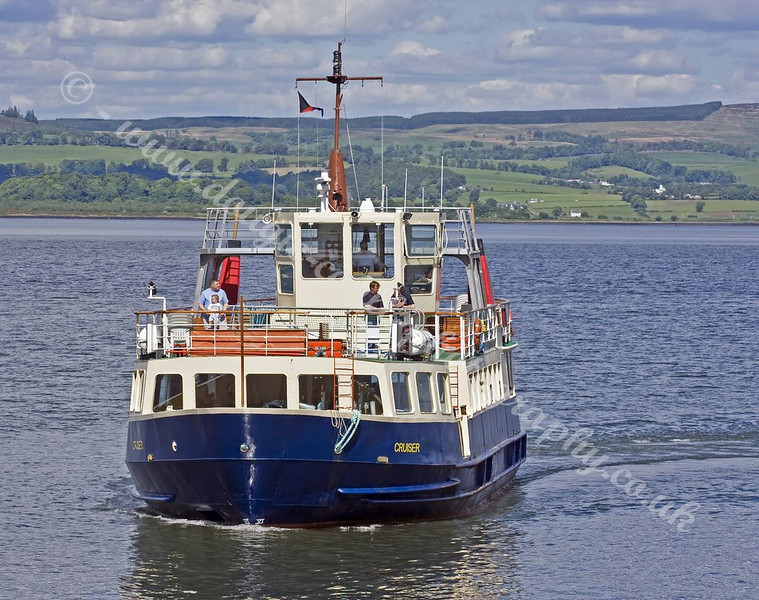 CMS Cruiser - entering India Harbour, Greenock
