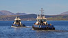 'Battler' and 'Bruiser' Depart James Watt Dock - 18 April 2014